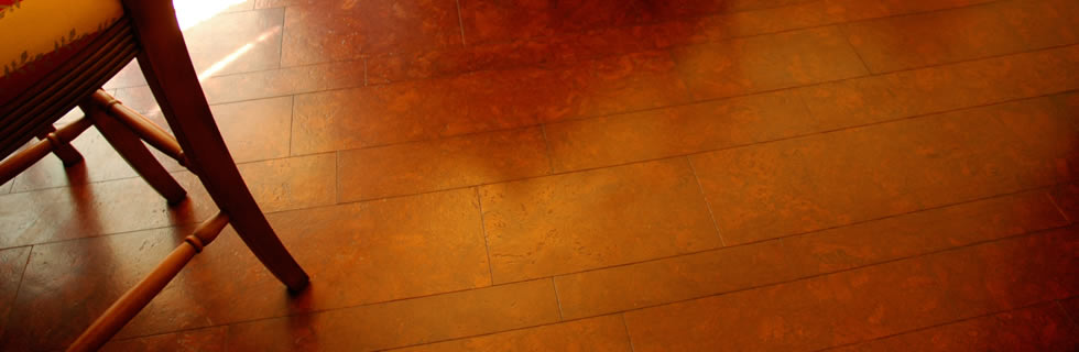Eco-friendly Cork Flooring. 100% Cork oak wood tiles for floors, walls or ceiling.
